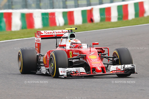 Kimi Raikkonen (FIN), <br /> OCTOBER 8, 2016 - F1 : Japanese Formula One Grand Prix Qualifying <br /> at Suzuka Circuit in Suzuka, Japan. (Photo by Sho Tamura/AFLO SPORT) GERMANY OUT