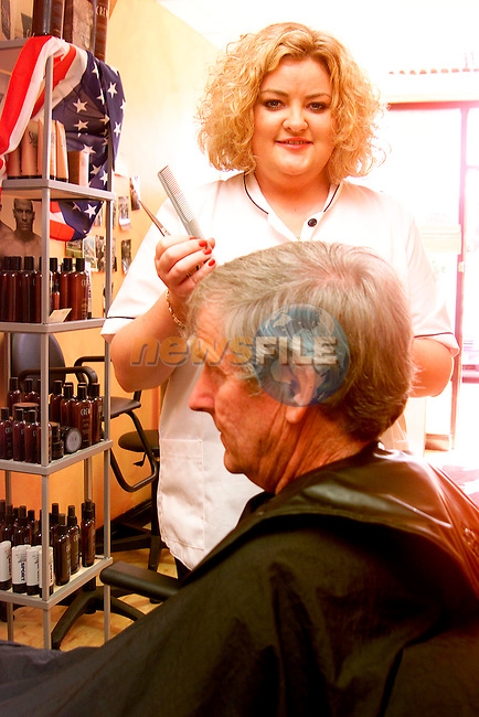 Grooms Barbers, Ardee.Picture: Paul Mohan/Newsfile