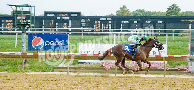 Sorry No Refunds winning at Delaware Park on 9/1/12
