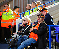 Blackpool fans watch their team in action<br /> <br /> Photographer Chris Vaughan/CameraSport<br /> <br /> The EFL Sky Bet League One - Coventry City v Blackpool - Saturday 7th September 2019 - St Andrew's - Birmingham<br /> <br /> World Copyright © 2019 CameraSport. All rights reserved. 43 Linden Ave. Countesthorpe. Leicester. England. LE8 5PG - Tel: +44 (0) 116 277 4147 - admin@camerasport.com - www.camerasport.com