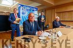 Basil Sheerin, CFO, John Mulhern CEO, John O'Sullivan Secretary and Denis Creegan Chairman at the Kerry Airport at the AGM in the Ballygarry house hotel on Monday