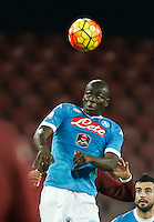 during the  italian serie a soccer match,between SSC Napoli and Torino      at  the San  Paolo   stadium in Naples  Italy , January 07, 2016