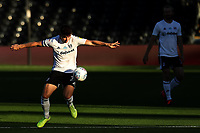 30th July 2020; Craven Cottage, London, England; English Championship Football Playoff Semi Final Second Leg, Fulham versus Cardiff City; Tom Cairney of Fulham controls the ball off his hip