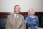 Waterbury, CT-22, September 2017-092217CM10 Social Moments from left--- Eugene Kapusta and Thea Bussmann of Essex are photographed during the Ninth Annual Brass Button Awards at the Mattatuck Museum in Waterbury.   Christopher Massa Republican-American