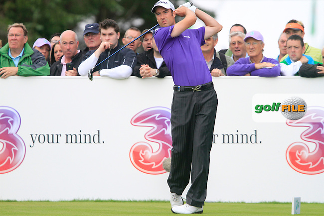 Ross Fisher tees off on the 17th tee during Day 2 of the 3 Irish Open at the Killarney Golf & Fishing Club, 30th July 2010..(Picture Eoin Clarke/www.golffile.ie)