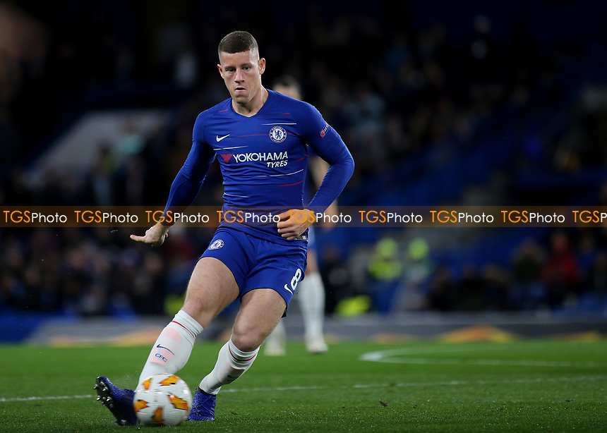 Ross Barkley of Chelsea in action during Chelsea vs PAOK Salonika, UEFA Europa League Football at Stamford Bridge on 29th November 2018