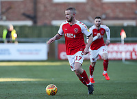 Fleetwood Town's Paddy Madden <br /> <br /> Photographer Andrew Kearns/CameraSport<br /> <br /> The EFL Sky Bet League One - Fleetwood Town v Charlton Athletic - Saturday 2nd February 2019 - Highbury Stadium - Fleetwood<br /> <br /> World Copyright © 2019 CameraSport. All rights reserved. 43 Linden Ave. Countesthorpe. Leicester. England. LE8 5PG - Tel: +44 (0) 116 277 4147 - admin@camerasport.com - www.camerasport.com