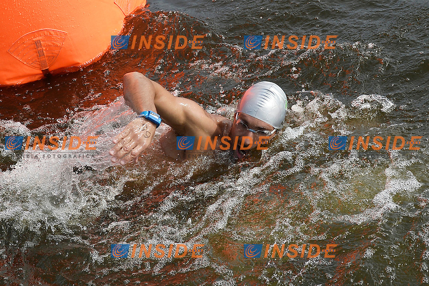 Valerio Cleri Italia <br /> Open Water 25Km <br /> 32nd LEN European Championships  <br /> Berlin, Germany 2014  Aug.13 th - Aug. 24 th<br /> Day05 - Aug. 17<br /> Photo Andrea Staccioli/Deepbluemedia/Insidefoto