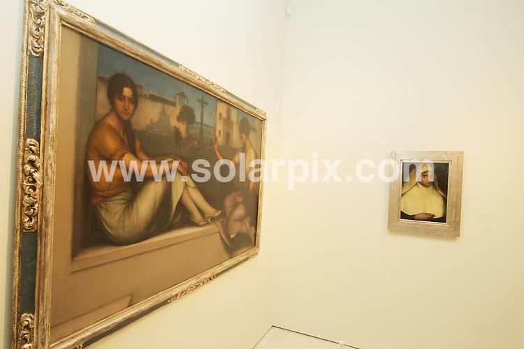 """**ALL ROUND PICTURES FROM SOLARPIX.COM**                                             **WORLDWIDE SYNDICATION RIGHTS EXCEPT SPAIN & SOUTH AMERICA - NO SYNDICATION IN SPAIN OR SOUTH AMERICA**                                                                                  Caption: .Spanish baroness Carmen Thyssen-Bornemisza widow of Baron Thyssen-Bornemisza, said at  the opening  presentation of the Malaga museum that the works on display in the new space, 230 were selected """"for their quality and closeness to Andalusia, although there are paintings that are not Andalusian such as those by Sorolla, Regoyos and Beruete."""".The Baroness has loaned these works for free for a period of fifteen years but was confident that """"in no time"""" she will reach an agreement to extend the agreement..Among the pieces that the public can see starting tomorrow, Carmen Cervera said there is an anonymous carving of Christ dated between 1230 and 1250 and a painting in which Guillermo Gómez Gil captured the Reding Fountain. """"I acquired the painting many years ago at an auction in London and it was one of my first Spanish works, """" she said.   .                                                                            .This pic: Carmen Thyssen-Bornemisza                                                                                             JOB REF: 13016       MPA       DATE: 23.03.2011                                                           **MUST CREDIT SOLARPIX.COM OR DOUBLE FEE WILL BE CHARGED**                                                                      **MUST AGREE FEE BEFORE ONLINE USAGE**                               **CALL US ON: +34 952 811 768 or LOW RATE FROM UK 0844 617 7637**"""