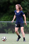 CARY, NC - JUNE 22: Julia Ashley. The North Carolina Courage held a training session on June 22, 2017, at WakeMed Soccer Park Field 7 in Cary, NC.