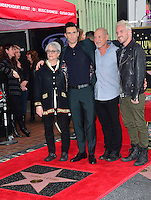 Adam Levine &amp; Parents &amp; Brother at the Hollywood Walk of Fame Star Ceremony honoring singer Adam Levine. Los Angeles, USA 10 February  2017<br /> Picture: Paul Smith/Featureflash/SilverHub 0208 004 5359 sales@silverhubmedia.com