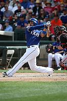 Robinson Chirinos - Texas Rangers 2016 spring training (Bill Mitchell)