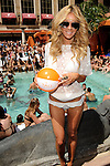 "MAY 21, 2010, LAS VEGAS NV; Model and Actress, Jasmine Dustin, celebrates her role in the movie, ""Iron Man 2, at TAO Beach Las Vegas © Al Powers, PowersImagery.com"