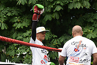 Lee Selby during a Public Work Out at ITV Head Office on 12th July 2017