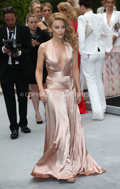 ACEPIXS.COM<br /> <br /> May 21 2014, Cannes<br /> <br /> Kylie Minogue arriving at amfAR's 21st Cinema Against AIDS Gala during the 67th Cannes International Film Festival at Hotel du Cap-Eden-Roc on May 21 2014 in Cap d'Antibes, France<br /> <br /> By Line: Famous/ACE Pictures<br /> <br /> ACE Pictures, Inc.<br /> www.acepixs.com<br /> Email: info@acepixs.com<br /> Tel: 646 769 0430