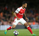 Arsenal's Theo Walcott in action during the Premier League match at the Emirates Stadium, London. Picture date: May 16th, 2017. Pic credit should read: David Klein/Sportimage