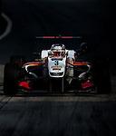Nicholas Latifi races the Formula 3 Macau Grand Prix during the 61st Macau Grand Prix on November 14, 2014 at Macau street circuit in Macau, China. Photo by Aitor Alcalde / Power Sport Images
