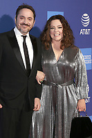 PALM SPRINGS - JAN 17:  Ben Falcone, Melissa McCarthy at the 30th Palm Springs International Film Festival Awards Gala at the Palm Springs Convention Center on January 17, 2019 in Palm Springs, CA