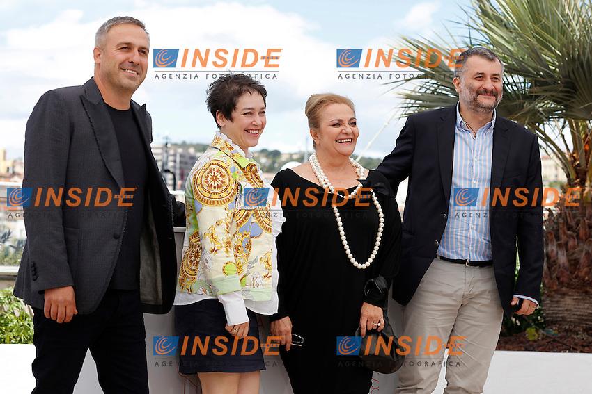 Cristi Puiu, Mimi Branescu, Dana Dogaru, Anca Puiu<br /> Festival di Cannes 2016 <br /> Foto Panoramic / Insidefoto