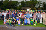 The crowd at the official unveiling the Farranfore-Valentia Island Railway commemoration plaque on Friday evening