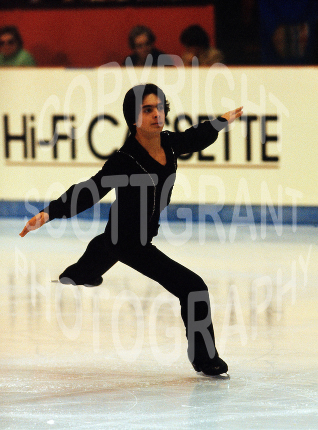 Brian Pockar of Canada competes at the 1978 World Figure Skating Championships in Ottawa, Canada. Photo copyright Scott Grant.
