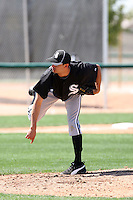 Carlos Torres, Chicago White Sox 2010 minor league spring training..Photo by:  Bill Mitchell/Four Seam Images.