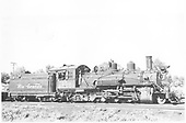 Right side view of K-27 #454<br /> D&amp;RGW  Montrose, CO  Taken by Schnepf, Ted - 1947-1949