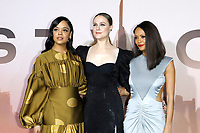 "LOS ANGELES - MAR 5:  Tessa Thompson, Evan Rachel Wood, Thandie Newton at the ""Westworld"" Season 3 Premiere at the TCL Chinese Theater IMAX on March 5, 2020 in Los Angeles, CA"