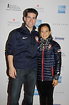 Nathan Bartholomay & Felicia Zhang - American Pair Skaters at Skating with the Stars - a benefit gala for Figure Skating in Harlem in its 17th year is celebrated with many US, World and Olympic Skaters honoring Michelle Kwan and Jeff Treedy on April 7, 2014 at Trump Rink, Central Park, New York City, New York. (Photo by Sue Coflin/Max Photos)