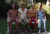 The Red Hot Chili Peppers  in a Portrait Photo Session in Los Angeles Ca. USA