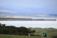 Charlie Denvir of Ireland during Day 3 / singles of the Boys' Home Internationals played at Royal Dornoch Golf Club, Dornoch, Sutherland, Scotland. 09/08/2018<br /> Picture: Golffile | Phil Inglis<br /> <br /> All photo usage must carry mandatory copyright credit (&copy; Golffile | Phil Inglis)