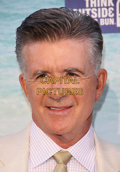 "ALAN THICKE .""The Comedy  Central"" Roast of David Hasselhoff held Sony Pictures Studios, Culver City, California, USA..August 1st, 2010.headshot portrait white cream.CAP/ADM/TC.©T. Conrad/AdMedia/Capital Pictures."