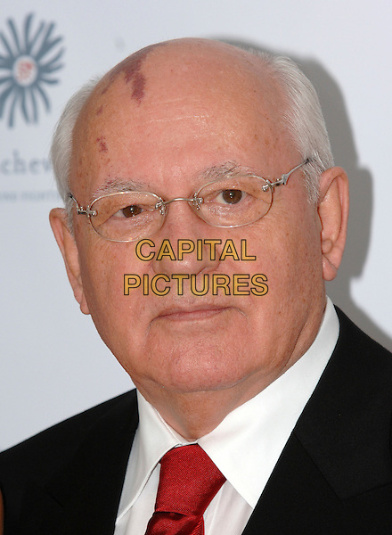 MIKHAIL GORBACHEV.Raisa Gorbachev Foundation Launch Party, Althrop, Northamptonshire, England,.10th June 2006..portrait headshot .Ref: PL.www.capitalpictures.com.sales@capitalpictures.com.©Capital Pictures