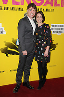 "Jonny Owen and Vicky McLure arrives for the ""SVENGALI"" premiere at the Rich Mix Cinema, Shoreditch,  London. 11/03/2014 Picture by: Steve Vas / Featureflash"