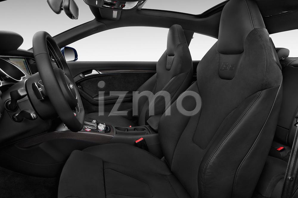 Front seat view of a 2015 Audi S5 4.2 quattro Tiptronic Premium Plus Coupe 2 Door Coupe Front Seat car photos