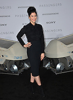Actress Sarah Silverman at the world premiere of &quot;Passengers&quot; at the Regency Village Theatre, Westwood. <br /> December 14, 2016<br /> Picture: Paul Smith/Featureflash/SilverHub 0208 004 5359/ 07711 972644 Editors@silverhubmedia.com