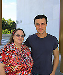 "All My Children's Finn Wittrock ""Damon"" stars in ""The Guardsman"" by Molnar and poses with Vikki on June 20, 2013 at The John F. Kennedy Center for the Performing Arts in Washington, D.C.  (Photo by Sue Coflin/Max Photos)"