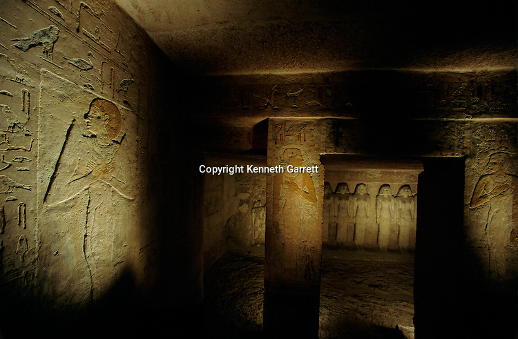 Egypt's Old Kingdom, Tomb of Queen Meresankh III, granddaughter of Khufu, Wife of Khafre, eastern cemetery Giza