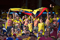 Action photo during the match Ecuador vs Haiti at MetLife Stadium Copa America Centenario 2016. ---Foto  de accion durante el partido Ecuador vs Haiti, En el Estadio MetLife Partido Correspondiante al Grupo - B -  de la Copa America Centenario USA 2016, en la foto: Fans<br /> <br /> -- 12/06/2016/MEXSPORT/Javier Ramirez.