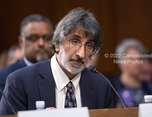 Professor Akhil Amar, Sterling Professor of Law and Political Science, Yale Law School, New Haven, Connecticut testifies in favor of the nomination of Judge Brett Kavanaugh before the US Senate Judiciary Committee on his nomination as Associate Justice of the US Supreme Court to replace the retiring Justice Anthony Kennedy on Capitol Hill in Washington, DC on Friday, September 7, 2018.<br /> Credit: Ron Sachs / CNP