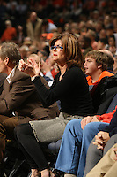 Renee Grisham at a UVa basketball game.