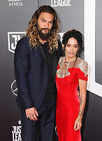 13 November  2017 - Hollywood, California - Jason Momoa, Lisa Bonet. &quot;Justice League&quot; Los Angeles Premiere held at The Dolby Theater in Hollywood. <br /> CAP/ADM/BT<br /> &copy;BT/ADM/Capital Pictures
