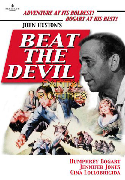 DVD COVER ART.in Beat The Devil.*Editorial Use Only*.www.capitalpictures.com.sales@capitalpictures.com.Supplied by Capital Pictures.