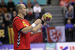 Zoran Roganovic. Montenegro vs France: 20-32 - Preliminary Round - Group A