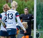 HUIZEN - Hockey - Robin van den Ende (HUI)   .Hoofdklasse hockey competitie, Huizen-Bloemendaal (2-1) . COPYRIGHT KOEN SUYK