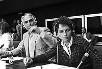 - Marco Pannella and Emma Bonino, leaders of Italian Radical Party as European parliamentarians in Strasbourg (July 1979)<br />