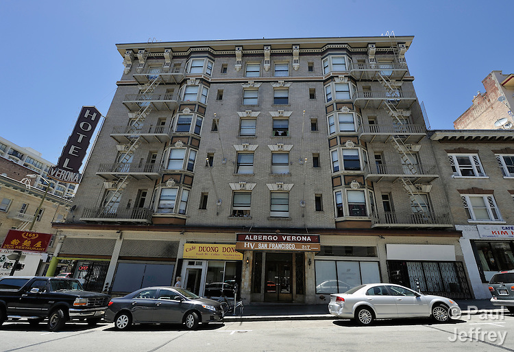 The Verona Hotel is a project of the Mary Elizabeth Inn which provides safe and permanent housing in San Francisco for women who were formerly homeless or survivors of domestic violence. The Verona Hotel and the Mary Elizabeth Inn are supported by the Women's Division of the United Methodist Church.