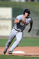 Salt River Rafters third baseman Jake Lamb (17), of the Arizona Diamondbacks organization, during an Arizona Fall League game against the Surprise Saguaros on October 14, 2013 at Surprise Stadium in Surprise, Arizona.  Salt River defeated Surprise 3-2.  (Mike Janes/Four Seam Images)