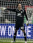 Nederland, Nijmegen, 15 december  2012.Eredivisie.Seizoen 2012/2013.N.E.C. - PSV.Khalid Sinouh, keeper (doelman) van N.E.C.