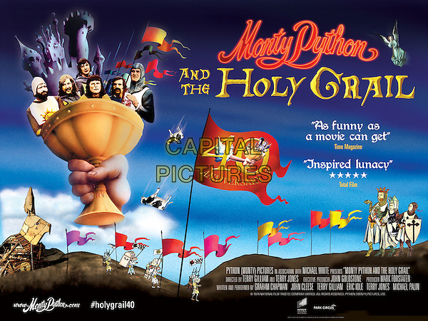 Monty Python and the Holy Grail (1975) <br /> POSTER ART<br /> *Filmstill - Editorial Use Only*<br /> CAP/KFS<br /> Image supplied by Capital Pictures